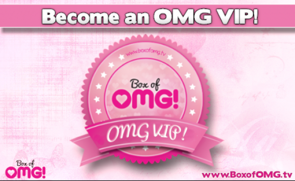 Get onto the super-exclusive OMG VIP list!