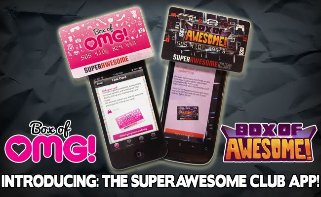 Introducing: the new SUPERAWESOME CLUB APP!