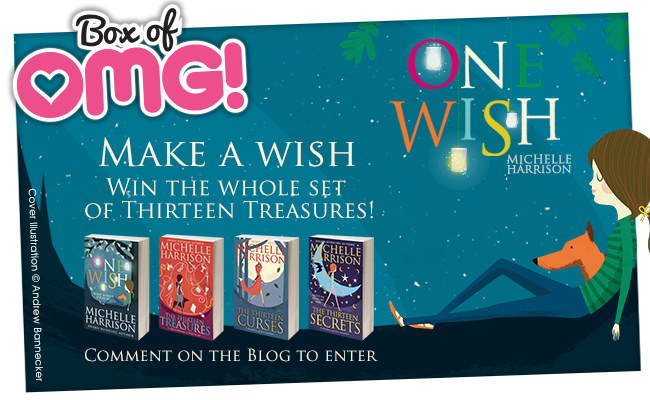 WIN a #TotallyOMG fairy-tastic collection of Michelle Harrison books!