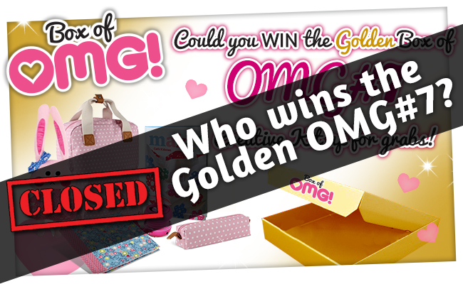 Who has WON the Golden Box of OMG #7?!