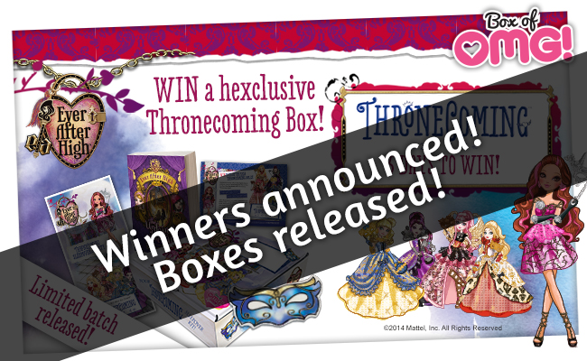 CLOSED: WIN a last minute Thronecoming Box of OMG!
