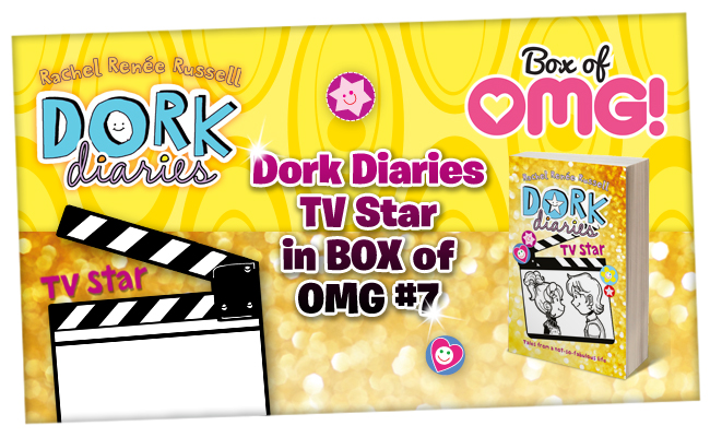 Show us your #TotallyOMG Dork Diaries book! :)