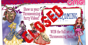 thronecoming closed